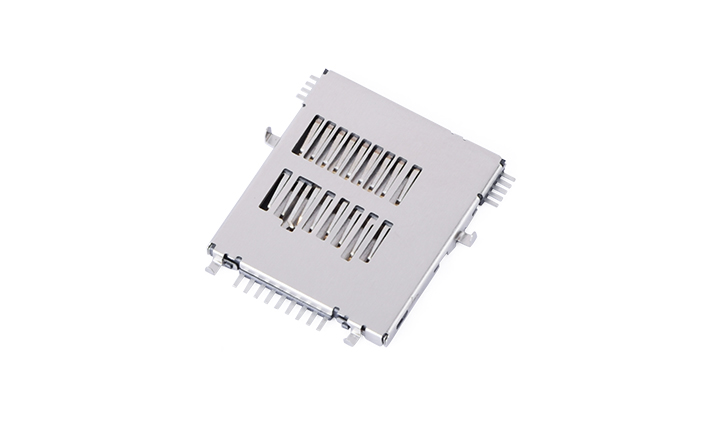 FCD420 Micro SD card 4.0 connector(H1.45mm)(Push to Push)