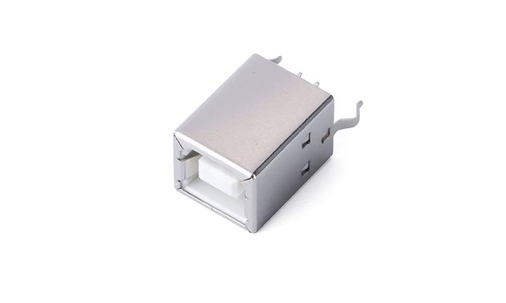 FUS273 USB B-type 4Circuits 180°Vertical Female(DIP)