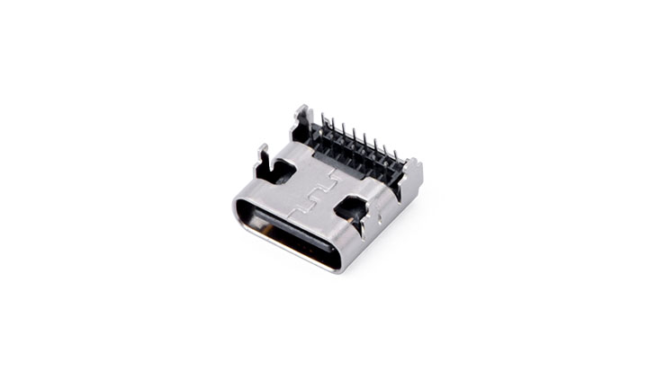 FUS621 USB3.1 C-type 16Circuits 90°Angle Female(DIP)