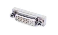 DVI is digital visual interface , it is widly used in high speed transmit digital signal technical, which have advantages of fast transmission speed and clear picture. DVI interface divided into three type of DVI-A, DVI-D and DVI-I.