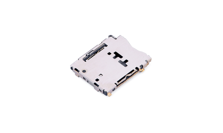 FCD906  Nano SIM Card Connector 7Circuits(H1.47mm)(Push-pull)