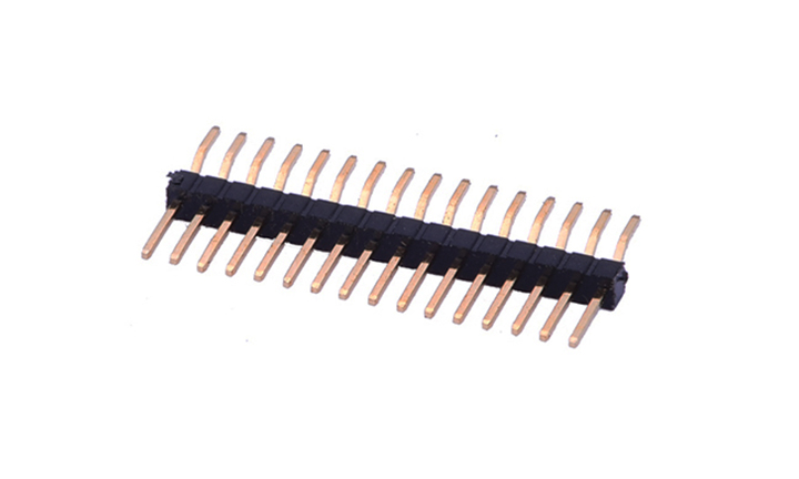 FPH10029 Pin Header 1mm 90°Angle Single row (SMT)